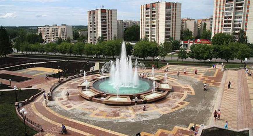 Уникальный фонтан в г. Сарове