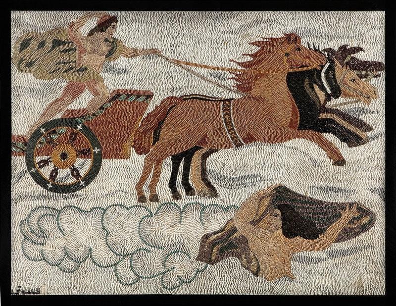 Мозаика из натурального камня 04