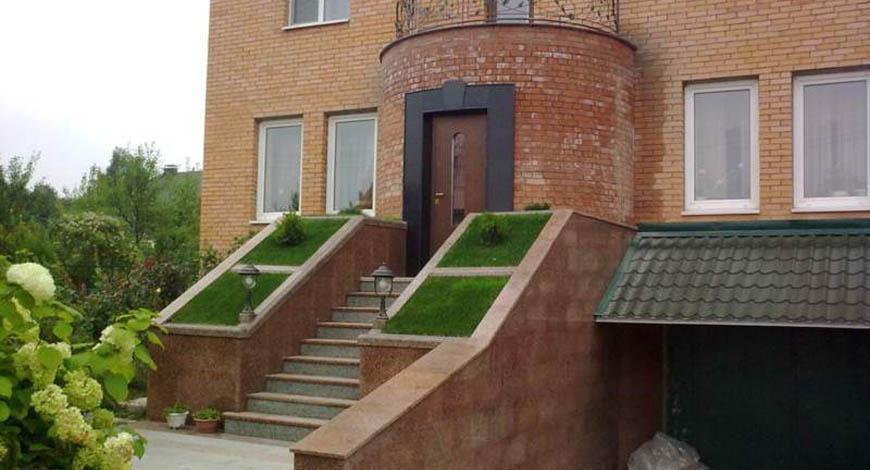 Лестницы из натурального камня - Фото 6