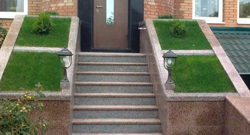 Лестницы из натурального камня - Фото 7
