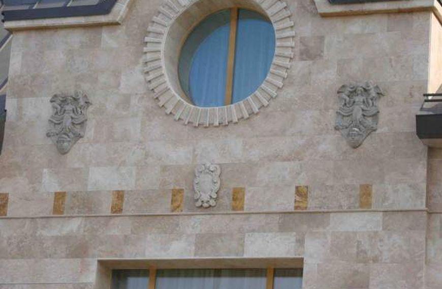 Облицовка фасадов камнем - фото 12