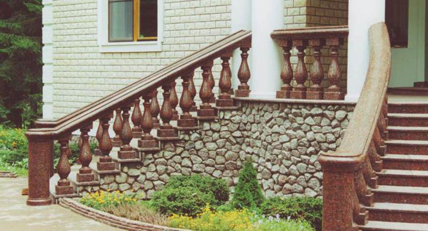 Лестницы из натурального камня - Фото 10