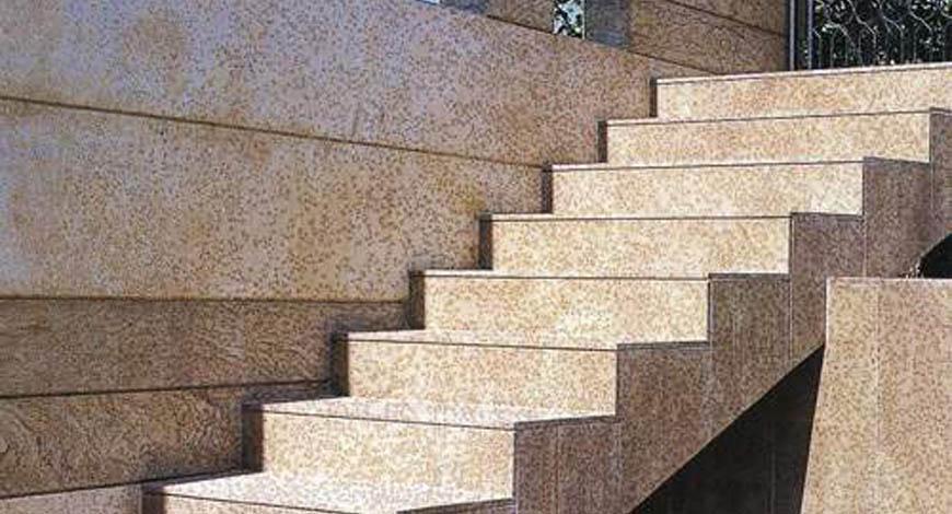 Лестницы из натурального камня - Фото 11