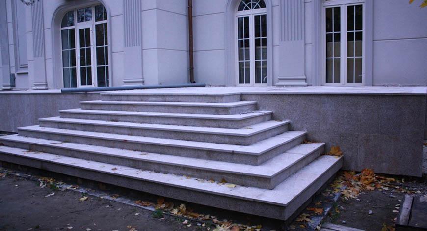 Лестницы из натурального камня - Фото 16