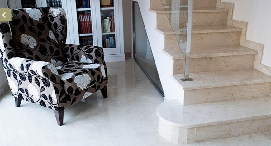 Лестницы из натурального камня - Фото 17