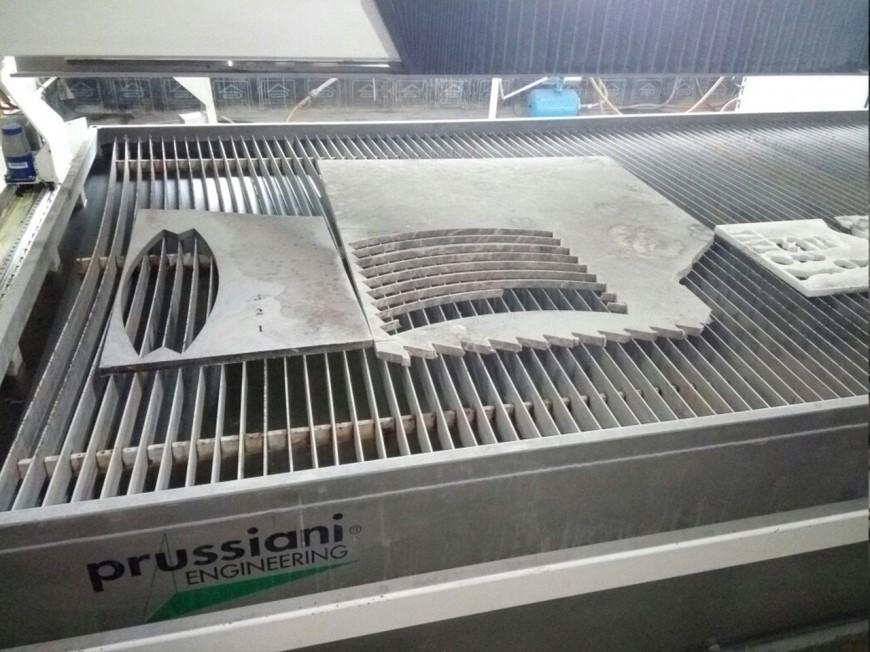 Гидроабразивная установка  Prussiani NEWRio 1