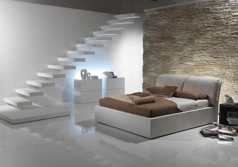 Риск благородное дело: экспериментируем с натуральным камнем в спальне