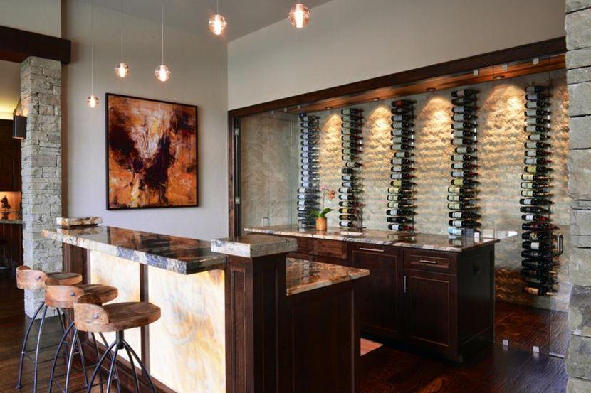 Барные стойки из натурального камня: виды и преимущества для дома и бизнеса