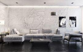 Правила использования мрамора в интерьере разных стилей