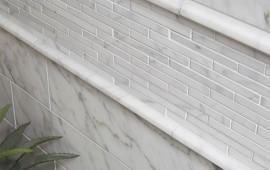 Внутренняя отделка балкона натуральным камнем