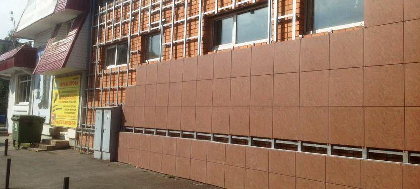 Технология монтажа вентилируемого фасада