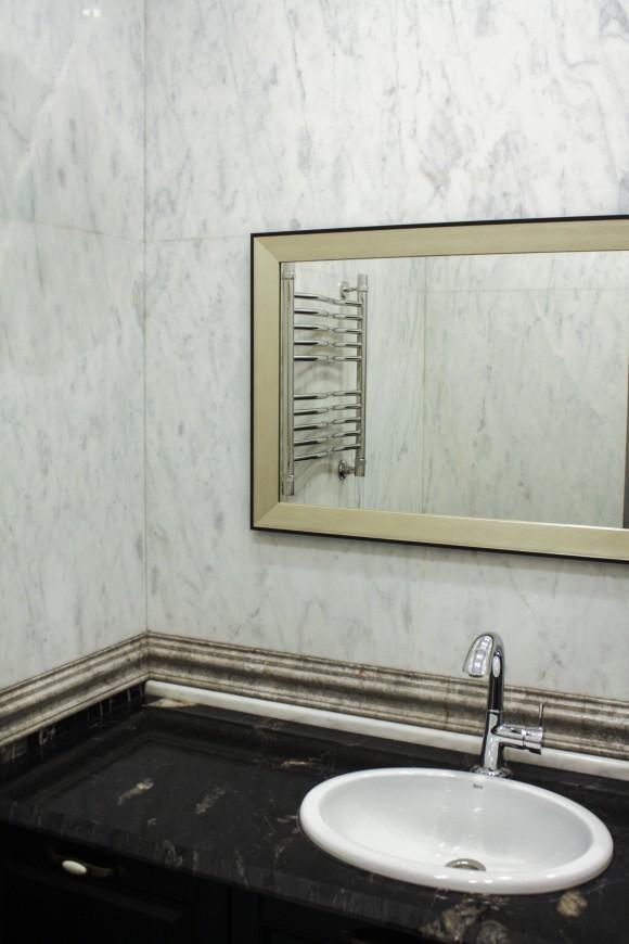 мраморная столешница в ванну