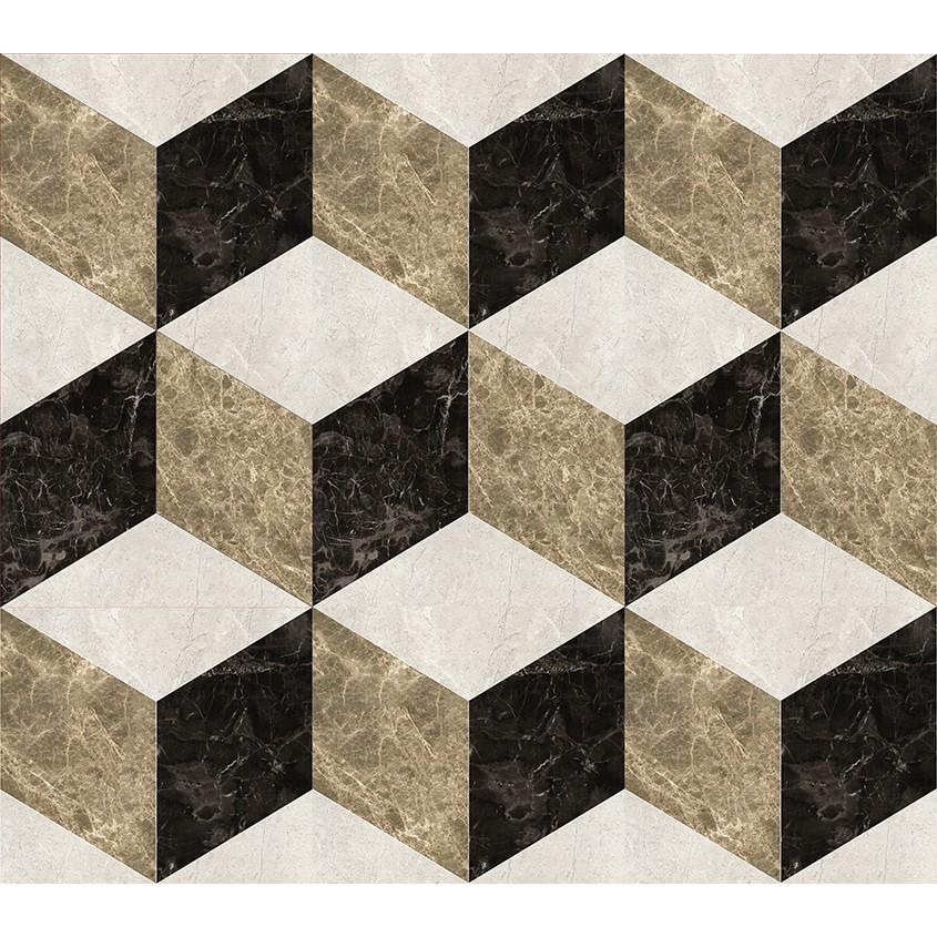 геометрическое панно из натурального камня на стену фото