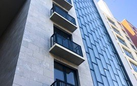 облицовка фасадов натуральным камнем