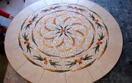 Мозаика из натурального камня красота и изыск
