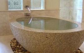 Мраморные ванны