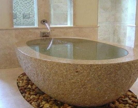 Ванна из искусственного камня своими руками 70
