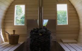 Натуральный камень при строительстве бани