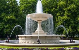 Отделка фонтанов натуральным камнем