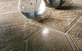 Плитка, изготовленная из натурального камня