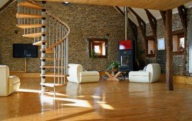 Применение декоративного камня в домашнем интерьере