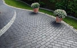 Тротуар из натурального камня