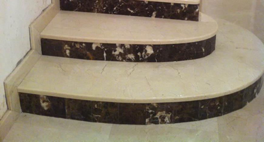 Лестницы из натурального камня - Фото 21