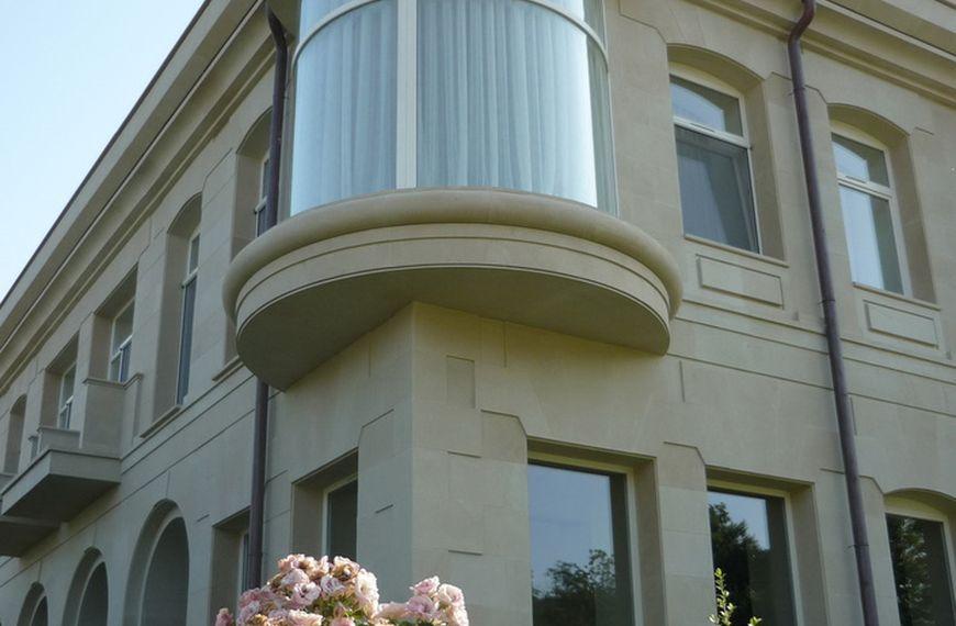 Облицовка фасадов камнем - фото 6